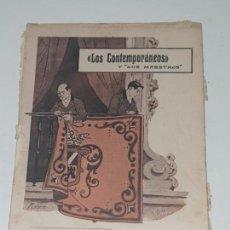 Libros antiguos: LOS CONTEMPORANEOS Y LOS MAESTREOS 1913- Nº 250-298-311. Lote 169738640