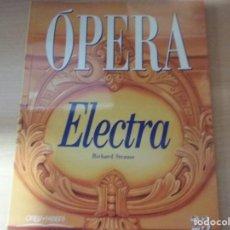 Libros antiguos: OPERA. ELECTRA - RICHARD STRAUSS (NÚMERO 23) (ORBIS-FABBRI) (EN ESPAÑOL). Lote 169823168