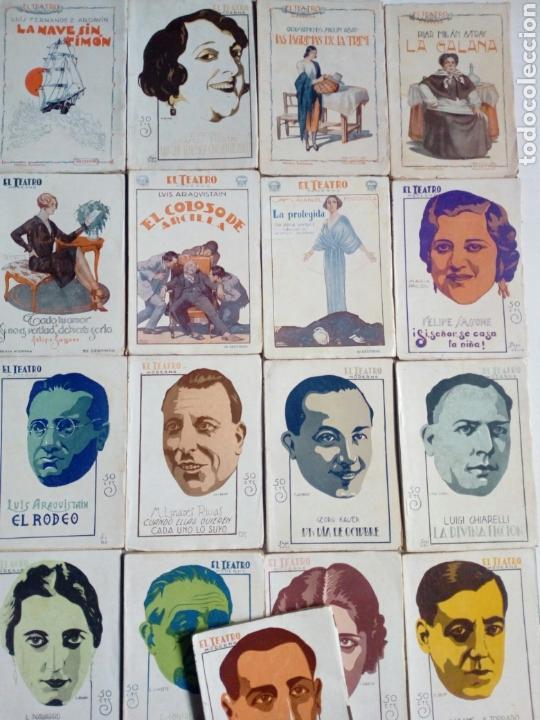 Libros antiguos: (1926 - 1931) EL TEATRO MODERNO - Lote 21 revistas de teatro - Obras teatrales - - Foto 2 - 170397880