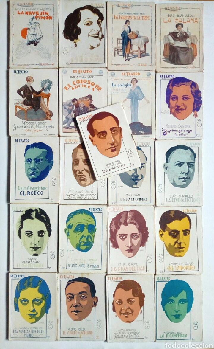 (1926 - 1931) EL TEATRO MODERNO - LOTE 21 REVISTAS DE TEATRO - OBRAS TEATRALES - (Libros antiguos (hasta 1936), raros y curiosos - Literatura - Teatro)