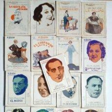 Libros antiguos: (1926 - 1931) EL TEATRO MODERNO - LOTE 21 REVISTAS DE TEATRO - OBRAS TEATRALES -. Lote 170397880