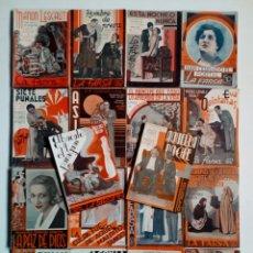 Libros antiguos: (1932 - 1936) LA FARSA - LOTE 18 REVISTAS DE TEATRO - OBRAS TEATRALES -. Lote 170399040