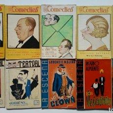 Libros antiguos: (1926-43) LOTE 10 REVISTAS DE TEATRO: COMEDIAS, BIBLIOTECA TEATRAL, LA ESCENA, TEATRO SELECTO. Lote 170400972