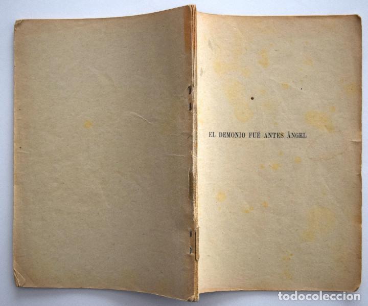 Libros antiguos: EL DEMONIO FUÉ ANTES ÁNGEL - JACINTO BENAVENTE - CASA EDITORIAL HERNANDO 1928 - Foto 2 - 170426116