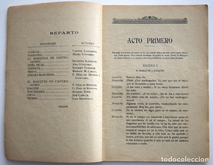 Libros antiguos: EL DEMONIO FUÉ ANTES ÁNGEL - JACINTO BENAVENTE - CASA EDITORIAL HERNANDO 1928 - Foto 4 - 170426116