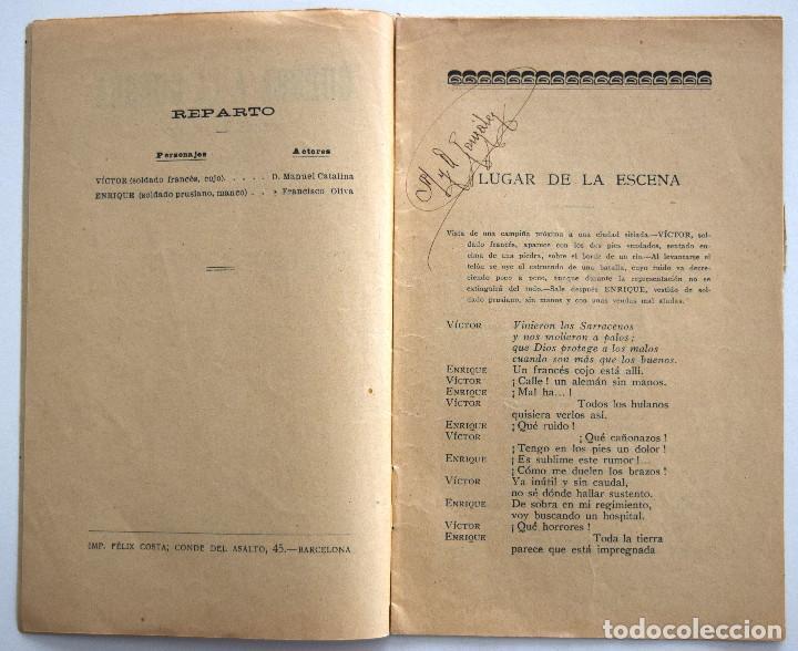 Libros antiguos: GUERRA A LA GUERRA - RAMÓN DE CAMPOAMOR - DOLORA DRAMÁTICA - SOCIEDAD DE AUTORES ESPAÑOLES 1914 - Foto 4 - 170427144
