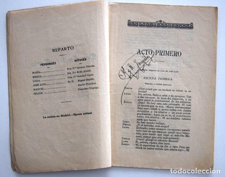Libros antiguos: EL NIDO AJENO - JACINTO BENAVENTE - SOCIEDAD DE AUTORES ESPAÑOLES MADRID 1915 - Foto 4 - 170428928