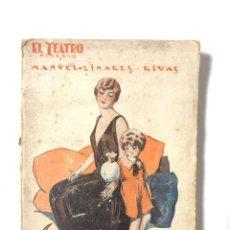 Libros antiguos: LA MALA LEY. EL TEATRO MODERNO. MANUEL LINARES RIVAS. MADRID, 1927. AÑO III. Nº 83. . Lote 172139938