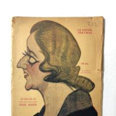 Libros antiguos: LAS HIJAS DEL CID. EDUARDO MARQUINA. LA NOVELA TEATRAL. AÑO VI. Nº 222. MADRID, 1921.. Lote 172142375