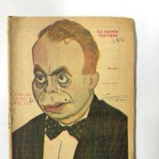 Libros antiguos: EL SEÑOR CURA. VITAL AZA. LA NOVELA TEATRAL. AÑO V. Nº 197. MADRID, 1920.. Lote 181518870