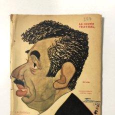Libros antiguos: LA ZAGALA. SERAFIN Y JOAQUIN ALVAREZ QUINTEROS. LA NOVELA TEATRAL. AÑO VI. Nº 257. MADRID, 1923.. Lote 172142969