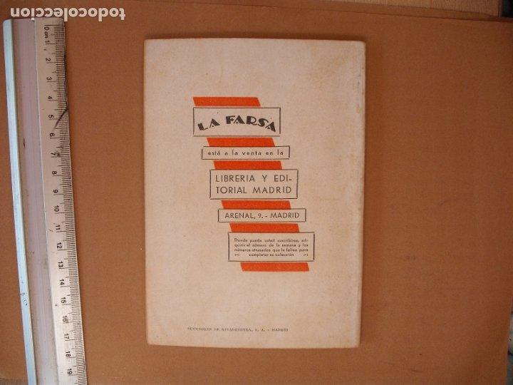 Libros antiguos: LA FARSA.LOS ILUSTRES GAÑANES,MUÑO SECA Y PEREZ FERNANDEZ .Nº 256- AÑO 1932 - Foto 3 - 173178694