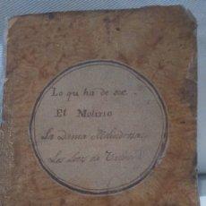 Libros antiguos: FREY FELIX LOPE DE VEGA TOMO IV 1832 COMEDIAS ESCOGIDAS . Lote 174520274