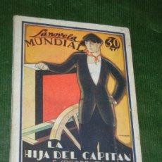 Libros antiguos: LA HIJA DEL CAPITAN, DE RAMON DEL VALLE-INCLAN, LA NOVELA MUNDIAL. AÑO II. MADRID, 1927. Nº 72.. Lote 176148915