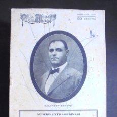 Libros antiguos: LA ESCENA CATALANA 1925 NÚMERO EXTRAORDINARI DEDICAT A SALVADOR BONAVIA. Lote 176392863