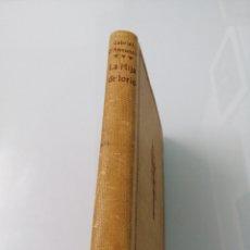 Libros antiguos: LA HIJA DE IORIO. GABRIEL D'ANNUNZIO. MADRID, 1917. ED.MINERVA.. Lote 176489104