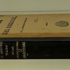 Libros antiguos: TEATRO SOCIAL DEL SIGLO XIX. VOLUM. II. FRAY GERUNDIO. TIP. MELLADO. MADRID. 1846.. Lote 176645424