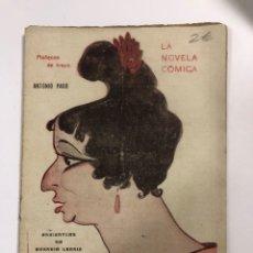 Libros antiguos: LA NOVELA COMICA. MUÑECOS DE TRAPO. ANTONIO PASO. AÑO IV. Nº 145. MADRID, 1919. . Lote 177983343