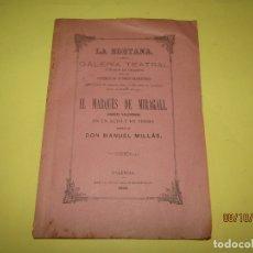 Libros antiguos: ANTIGUO LIBRITO DE LA EDETANA CON EL MARQUÉS DE MIRAGALL JUGUETE VALENCIANO - AÑO 1884. Lote 178758662