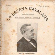 Libros antiguos: JOSEP Mª FOLCH I TORRES : EL REI QUE NO REIA (ESCENA CATALANA, 1931). Lote 178895280