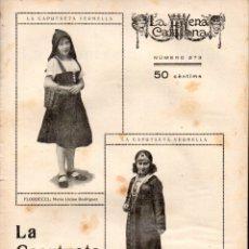 Libros antiguos: JORDI CANIGÓ : LA CAPUTXETA VERMELLA (ESCENA CATALANA, 1928) CAPERUCITA ROJA. Lote 178895996