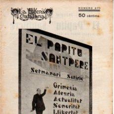 Libros antiguos: JOAQUIM MONTERO : EL PAPITO SANTPERE (ESCENA CATALANA, 1925). Lote 178897205