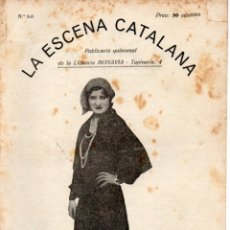 Libros antiguos: AMICHATIS : DEL MATEIX FANG (ESCENA CATALANA, 1931). Lote 178897492