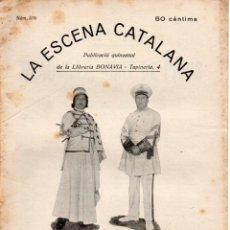 Libros antiguos: GASTON MANTUA : DEAUVILLE, PORT DE PARIS (ESCENA CATALANA, 1932). Lote 178897736