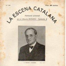 Libros antiguos: POUS I PAGÉS : VIVIM A LES PALPENTES (ESCENA CATALANA, 1931). Lote 178898323