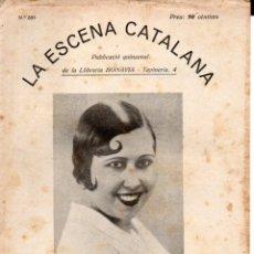 Libros antiguos: MADRID I NADAL : AVENTURA SENTIMENTAL D'UNA MINYONA (ESCENA CATALANA, 1931). Lote 178898552