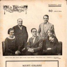 Libros antiguos: AGUSTÍ COLLADO : MARIANGELA (ESCENA CATALANA, 1928). Lote 178899071