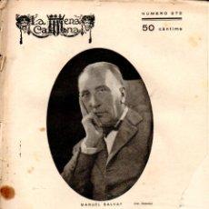 Libros antiguos: ALEXANDRE DUMAS FILL : L' AMIC DE LES DONESA (ESCENA CATALANA, 1928). Lote 178899738