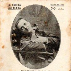 Libros antiguos: LADISLAO FODOR : MARIA NO SIGUIS TONTA (ESCENA CATALANA, 1931). Lote 178900093