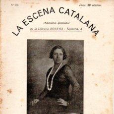 Libros antiguos: MILLÀS I RAURELL : LA MARE DE HAMLET (ESCENA CATALANA, 1931). Lote 178900356