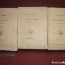 Libros antiguos: JUAN RUIZ DE ALARCON ... COMEDIAS ESCOGIDAS ... 1867. Lote 179541887