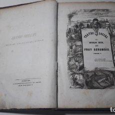 Libros antiguos: LIBRO TEATRO SOCIAL DEL SXIX POR FRAY GERUNDIO ORIGINAL 1846. Lote 180230180