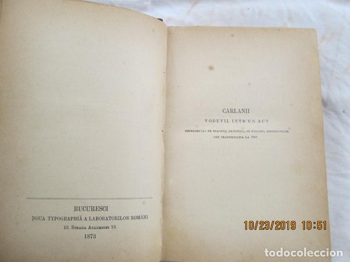 Libros antiguos: SCRIERILE LUI CONSTANTIN NEGRUZZI - VOLUMEN III - TEATRU - BUCURESCI 1873. - Foto 2 - 181139002