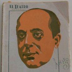 Libros antiguos: EL TEATRO MODERNO - LEVANTA MAGDALENA - POR CARLOS M. BAENA - Nº 214 - AÑO 1929. Lote 181562975