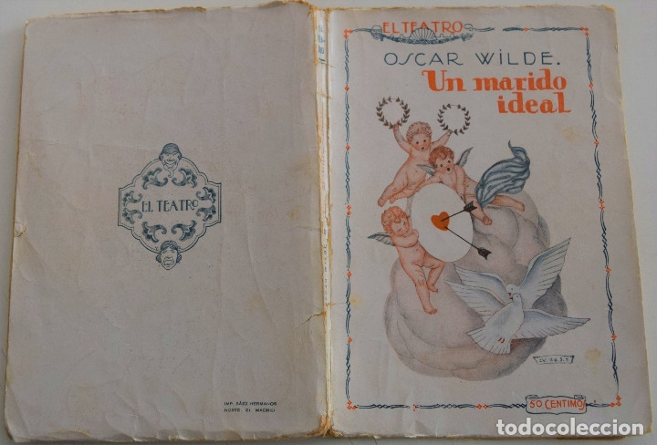 Libros antiguos: EL TEATRO MODERNO - UN MARIDO IDEAL - POR OSCAR WILDE - Nº 7 - AÑO 1925 - Foto 2 - 181564098