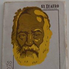 Libros antiguos: EL TEATRO MODERNO - TORQUEMADA - POR VICTOR HUGO - Nº 293 - AÑO 1931. Lote 181564616