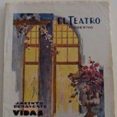 Libros antiguos: EL TEATRO MODERNO -VIDAS CRUZADAS -POR JACINTO BENAVENTE NÚMERO- Nº EXTRAORDINARIO -Nº 224 -AÑO 1929. Lote 181565187