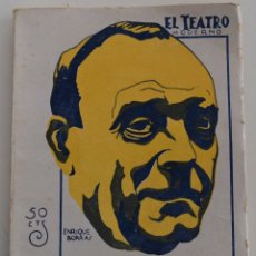 Libros antiguos: EL TEATRO MODERNO - LA ESPUMA DEL CHAMPAGNE - POR M. LINARES RIVAS - Nº 189 - AÑO 1929. Lote 181566726