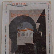 Libros antiguos: EL TEATRO - LOS CÓMICOS DE LA LEGUA - POR FEDERICO OLIVER - Nº 19 - AÑO 1929. Lote 181567932