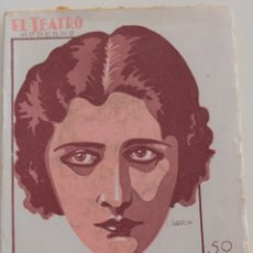 Libros antiguos: EL TEATRO MODERNO - LA ROSA DEL MAR - POR FELIPE SASSONE - Nº 267 - AÑO 1930. Lote 181568636
