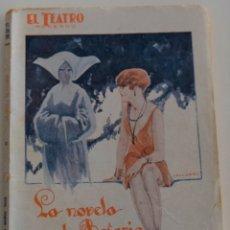 Libros antiguos: EL TEATRO MODERNO - LA NOVELA DE ROSARIO - POR PEDRO MUÑOZ SECA - Nº 112 - AÑO 1927. Lote 181569715