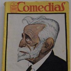 Libros antiguos: COMEDIAS Nº 70 - SE ONDULAN SEÑORAS - POR ANTONIO PASO - MISS MARY MERINO - POR LUIS MANZANO MANCEBO. Lote 182354228