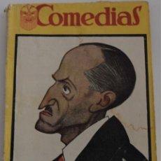Libros antiguos: COMEDIAS Nº 45 -DESDICHAS DE LA FORTUNA O JULIANILLO VALCÁRCEL-POR MANUEL Y ANTONIO MACHADO. Lote 182356062