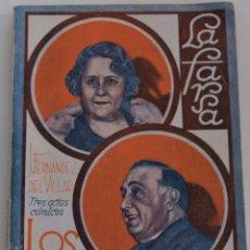 Libros antiguos: LA FARSA - Nº 209 - LOS REYES CATOLICOS - POR J. FERNANDEZ DE VILLAR. Lote 182375778