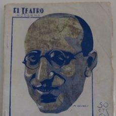 Libros antiguos: EL TEATRO MODERNO Nº 221 - LA LEONA DE CASTILLA - POR FRANCISCO VILLAESPESA. Lote 182476741