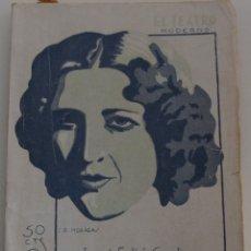 Libros antiguos: EL TEATRO MODERNO Nº 258 - LA DOLORES - JOSE FELIU CODINA. Lote 182477602
